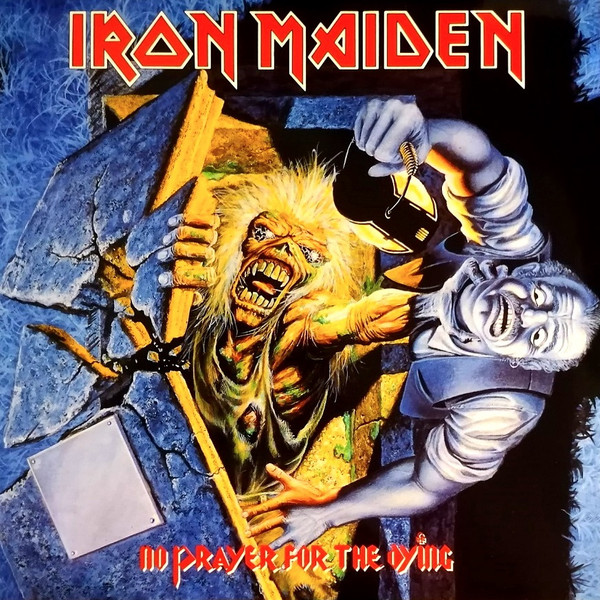 Iron Maiden - No Prayer For The Dying (LP, Album, RE, RM)