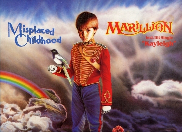 Marillion - Misplaced Childhood (LP, Album, RE)