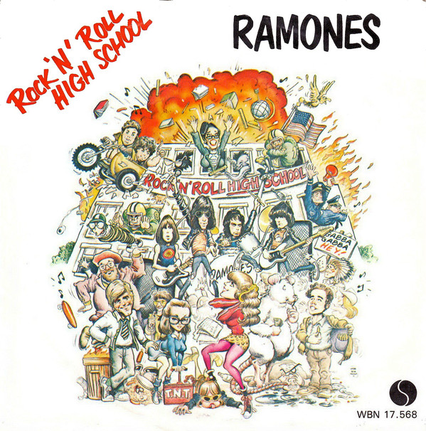 Ramones - Rock 'N' Roll High School (7