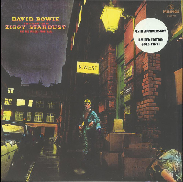 David Bowie - The Rise And Fall Of Ziggy Stardust And The Spiders From Mars (LP, Album, Ltd, RE, RM, RP, Gol)