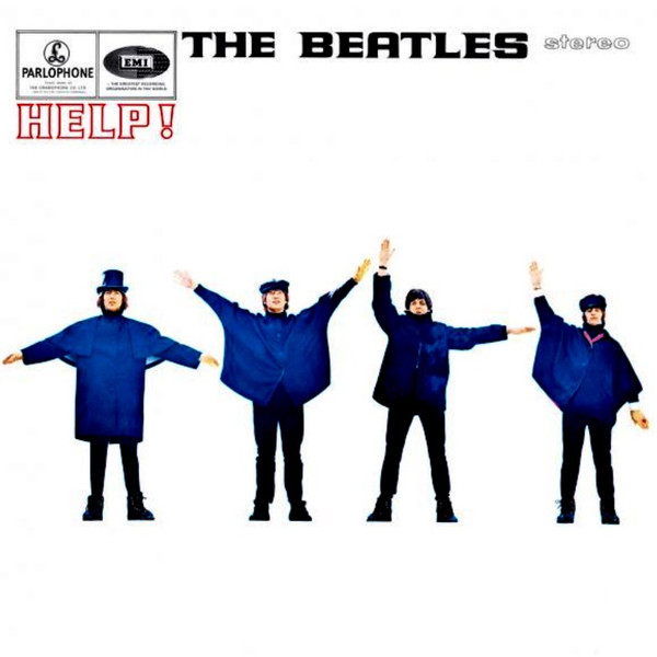 The Beatles - Help! (LP, Album, RE, RM)