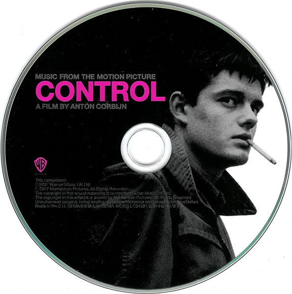 Various - Music From The Motion Picture Control (CD, Comp)