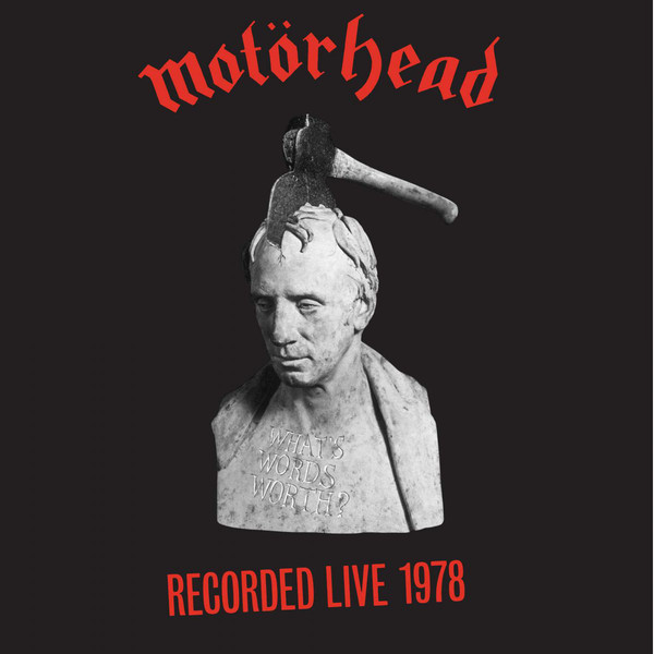 Motörhead - What's Words Worth? (LP, Album, RE, Red)