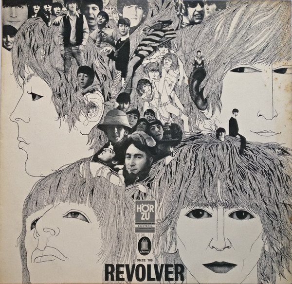 The Beatles - Revolver (LP, Album, Ful)