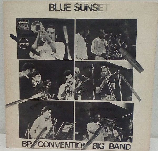 BP Convention Big Band* - Blue Sunset (LP, Album, RE, RP, Gat)