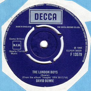 David Bowie - The London Boys / Love You Till Tuesday (7