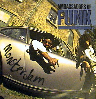 Ambassadors Of Funk - Monster Jam (LP, Album)