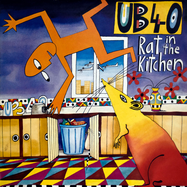 UB40 - Rat In The Kitchen (LP, Album)