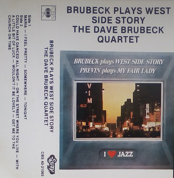 Brubeck*, Previn* - Brubeck Plays West Side Story / Previn Plays My Fair Lady (Cass, Comp)