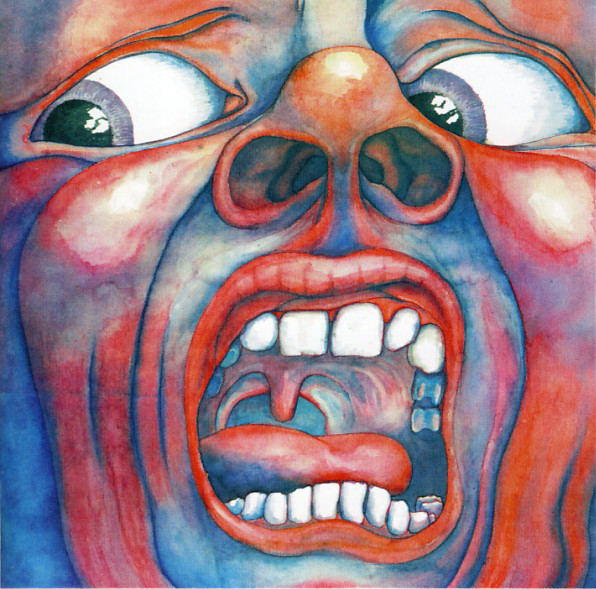 King Crimson - In The Court Of The Crimson King - An Observation By King Crimson (HDCD, Album, RE, RM, Ori)