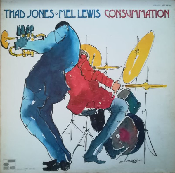 Thad Jones & Mel Lewis - Consummation (LP, Album, Gat)