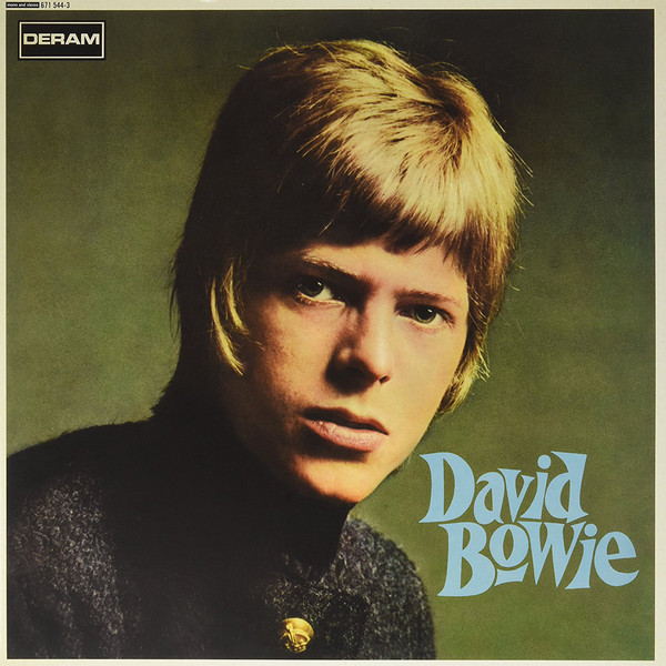 David Bowie - David Bowie (LP, Album, Mono, Blu + LP, Album, Red + RE, RM)