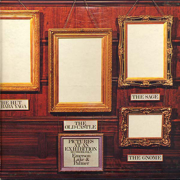 Emerson, Lake & Palmer - Pictures At An Exhibition (LP, Album, Gat)