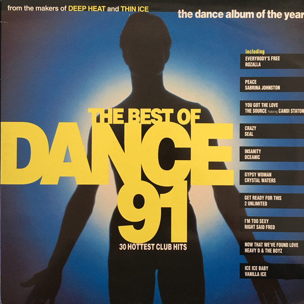 Various - The Best Of Dance 91 (2xLP, Comp, Gat)