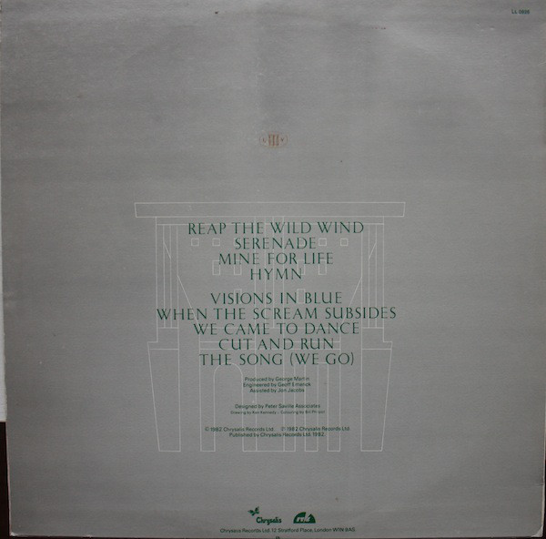 Ultravox Quartet Lp Album Woodstock Shop