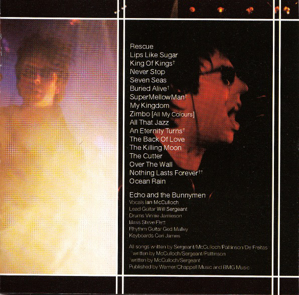 Echo And The Bunnymen* - Live In Liverpool (CD, Album)