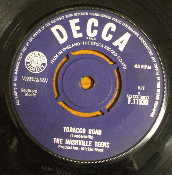 The Nashville Teens - Tobacco Road (7