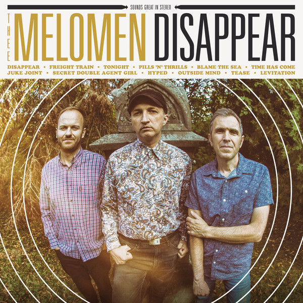 Thee Melomen - Disappear (LP, Album)