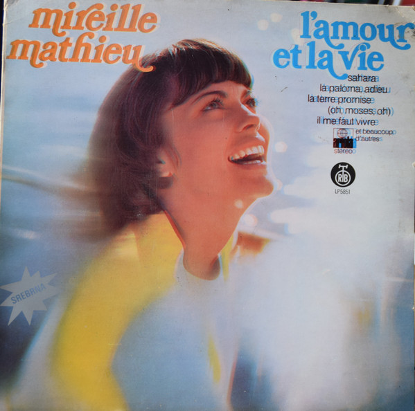 Mireille Mathieu - L'Amour Et La Vie (LP, Album, RE)