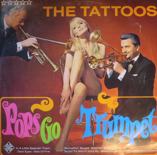 The Tattoos - Pops Go Trumpet (LP, Album)
