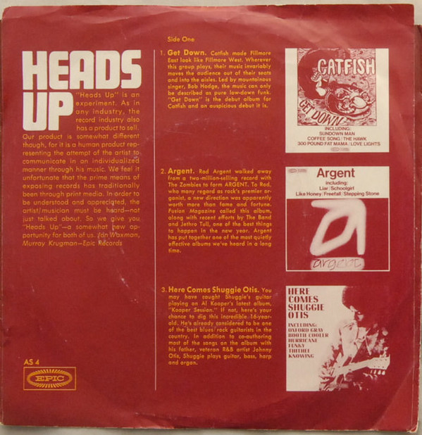Various - Heads Up (7