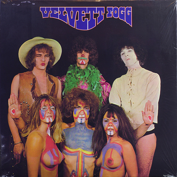 Velvett Fogg - Velvett Fogg (LP, Album, RE)
