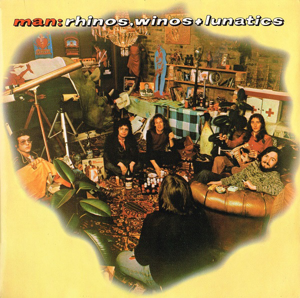Man - Rhinos, Winos And Lunatics (LP, Album, Gat)