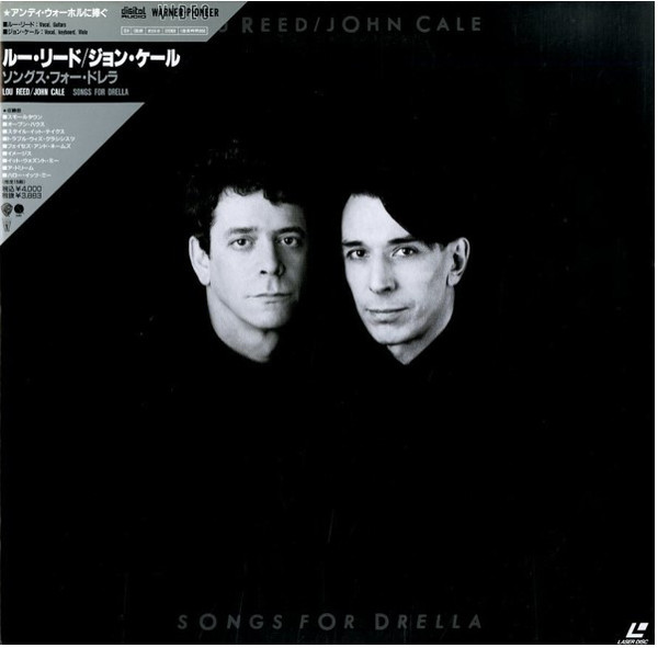 Lou Reed / John Cale - Songs For Drella (Laserdisc, 12