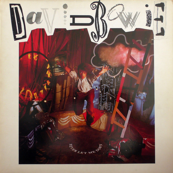 David Bowie - Never Let Me Down (LP, Album)