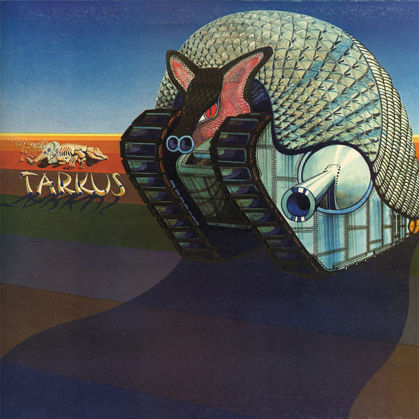 Emerson, Lake & Palmer - Tarkus (LP, Album, E.J)