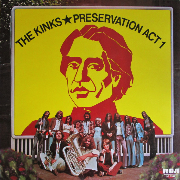 The Kinks - Preservation Act 1 (LP, Album)