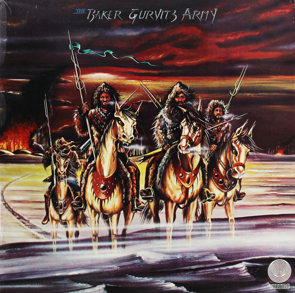 The Baker Gurvitz Army* - The Baker Gurvitz Army (LP, Album)