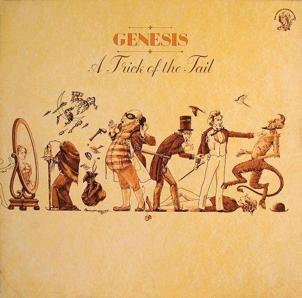 Genesis - A Trick Of The Tail (LP, Album, Gat)