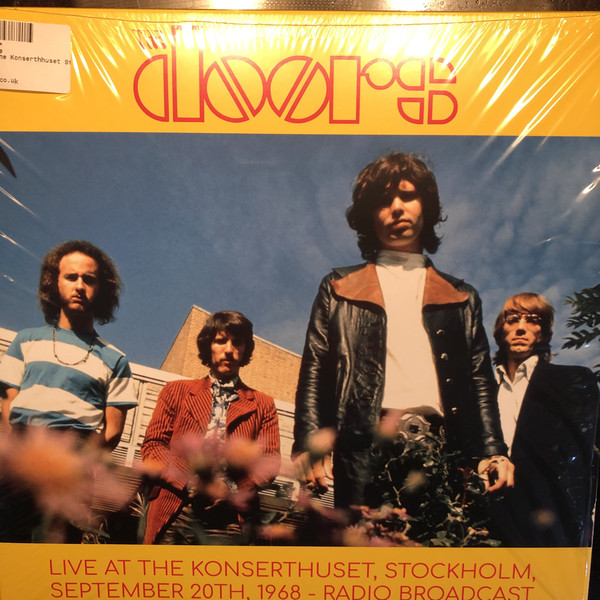 The Doors - Live At The Stockholm Konserthuset, Stockholm, September 20th, 1968 - Radio Broadcast (2xLP, Unofficial)