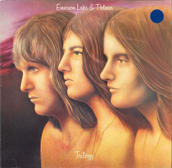 Emerson Lake & Palmer* - Trilogy (LP, Album, RE, RP, Gat)