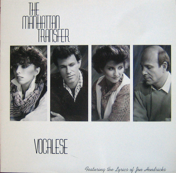 The Manhattan Transfer - Vocalese (LP, Album)