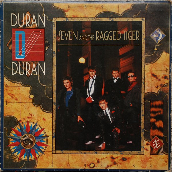 Duran Duran - Seven And The Ragged Tiger (LP, Album)