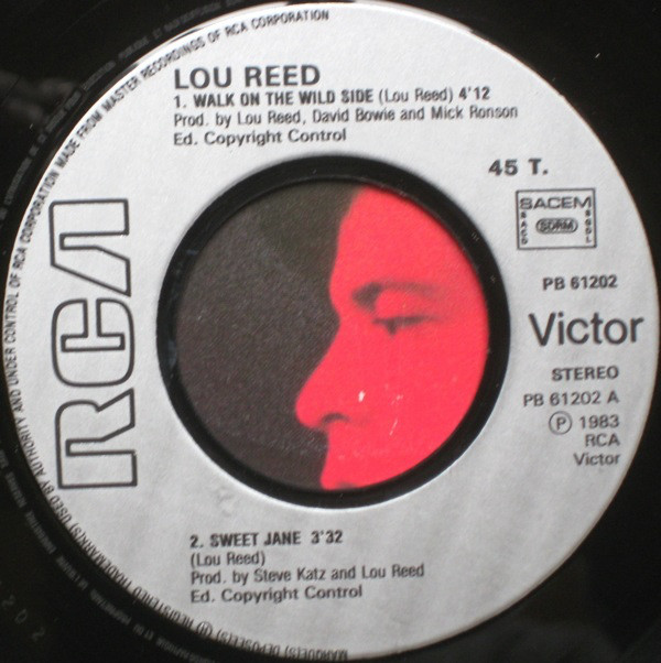 Lou Reed - Walk On The Wild Side (7