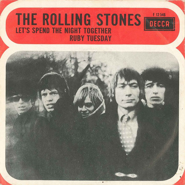 The Rolling Stones - Let's Spend The Night Together / Ruby Tuesday (7