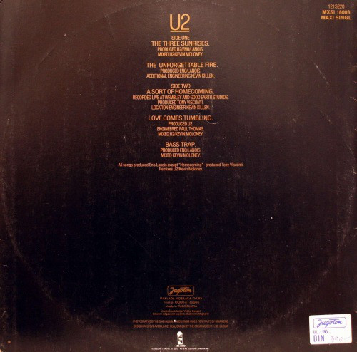 U2 - The Unforgettable Fire (12