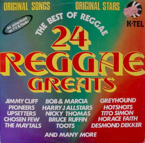 Various - 24 Reggae Greats (LP, Comp, Ltd)