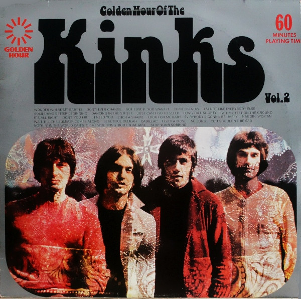 The Kinks - Golden Hour Of The Kinks Vol. 2 (LP, Album, Comp)