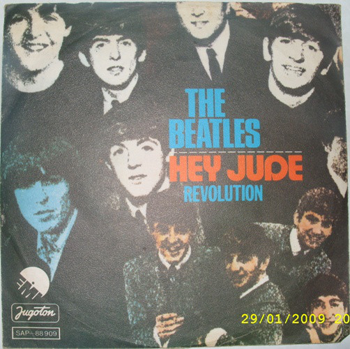 The Beatles - Hey Jude / Revolution (7