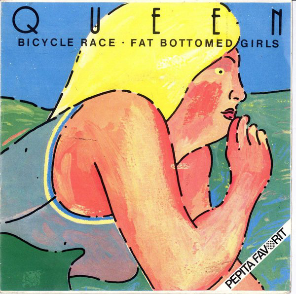 Queen - Bicycle Race / Fat Bottomed Girls (7