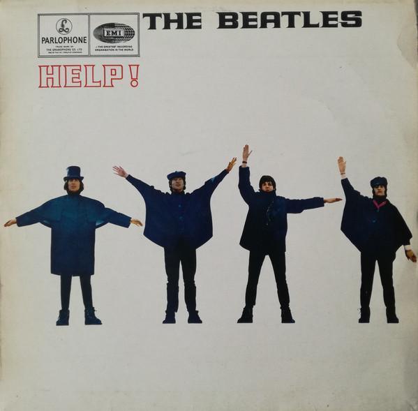 The Beatles - Help! (LP, Album, RE)