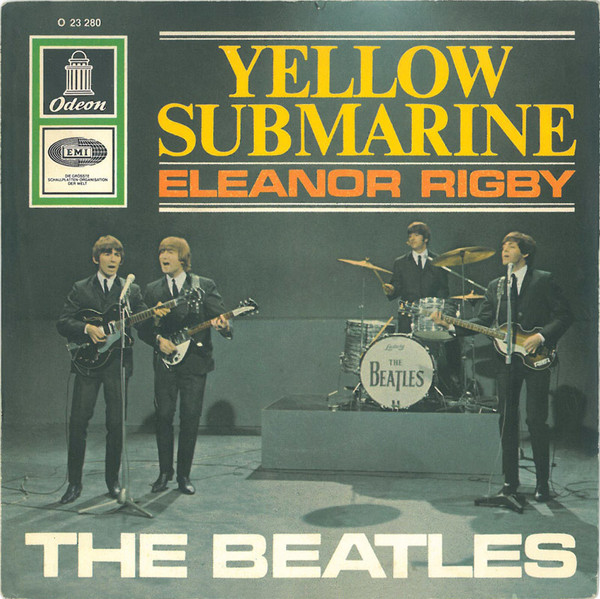 The Beatles - Yellow Submarine / Eleanor Rigby (7