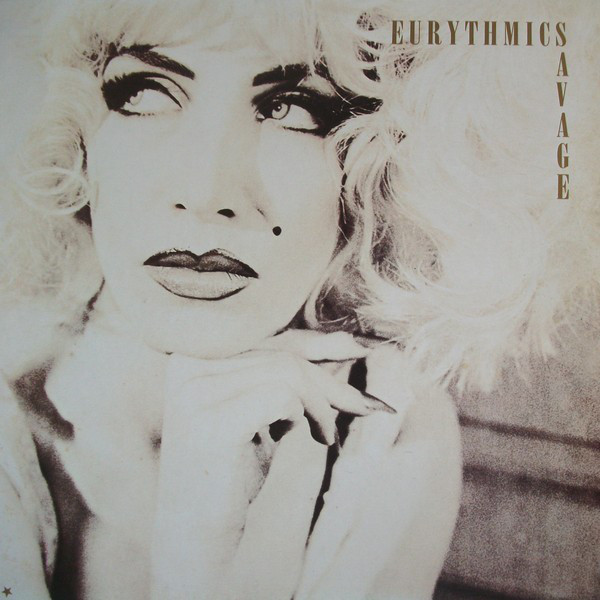 Eurythmics - Savage (LP, Album)