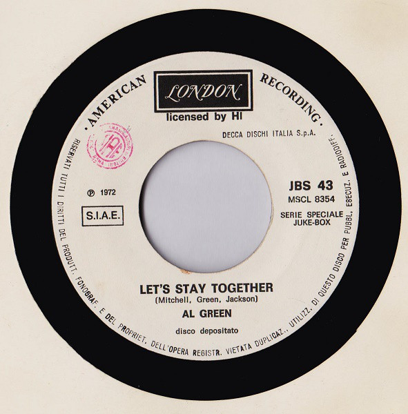 Grapefruit / Al Green - Sha - Sha / Let's Stay Together (7