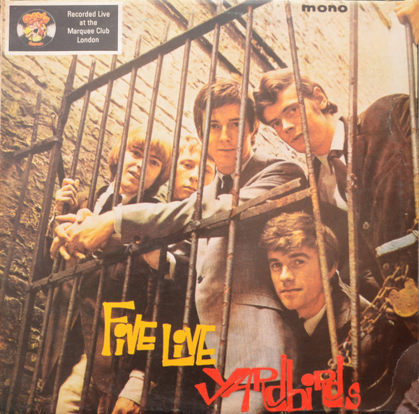 Yardbirds* - Five Live Yardbirds (LP, Album, Mono, RE)