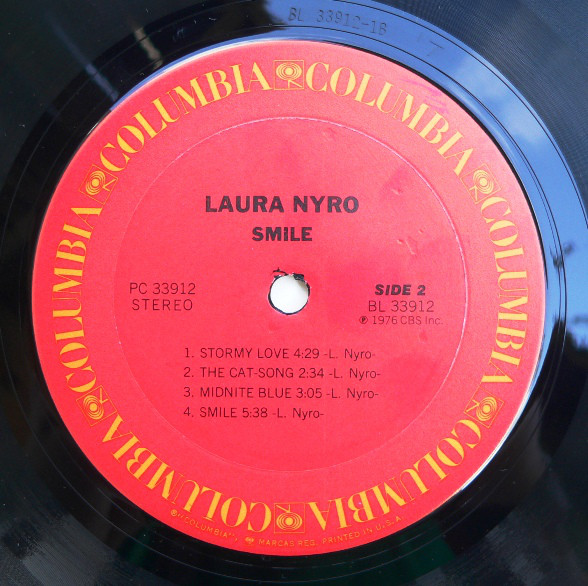 Laura Nyro - Smile (LP, Album)